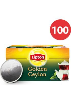 Lipton Demlik Poşet Çay Golden Ceylon 100'Lü