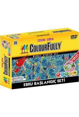 Colourfully Ebru Başlangıç Seti Çalışma Dvd İçerikli