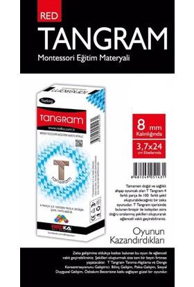 Redka T Tangram Montessori Eğitim Materyali 4 Parça