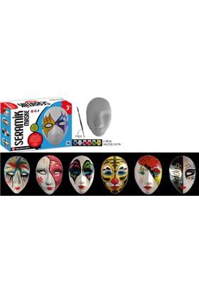 Kum Toys Seramik Maske 3+