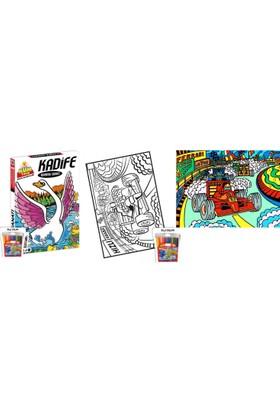 Kum Toys Kadife Boyama Sanatı KDF-07