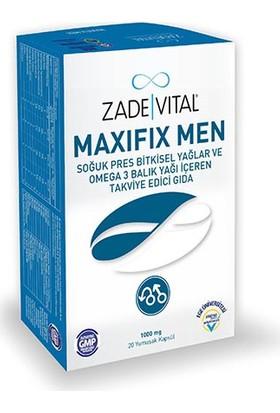 Zade Vital Maxifix Men 1200mg 20 Yumuşak Kapsül