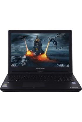 """Casper G500.6700-B565P Intel Core i7 6700HQ 16GB 1TB + 256GB SSD GTX960M Windows 10 Home 15.6"""" FHD Taşınabilir Bilgisayar"""