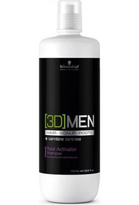 3D Men Root Actıvator Dökülme Önleyici Şampuan 1000Ml