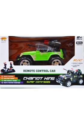 Uygun İthalat Joistic Kontrol Şarjlı Jeep Mermi Atarlı 6017
