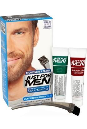 Just For Men Moustache & Beard Sakal Bıyık Şampuanı Light Medium M-30