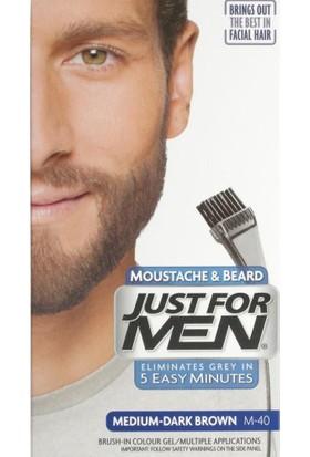 Just For Men Moustache & Beard Sakal Bıyık Şampuanı Mediumdark Brown M-40