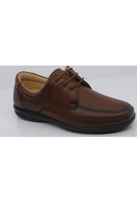 Fancy 458 Deri Diyabetik Ortopedik Kalıp Günlük Erkek Ayakkabı