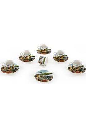 Vitale 6'lı Kahve Fincanı Seti - Alanya