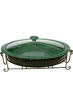 Vitale Style Fırın Kabı Yeşil