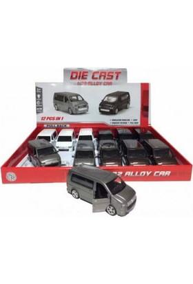Diecast 1:32 Transporter Metal Araba