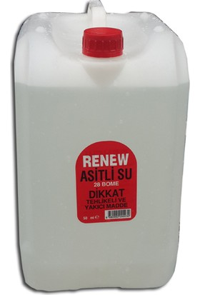 Renew Asitli Su (Akü Asiti) - 10 litre
