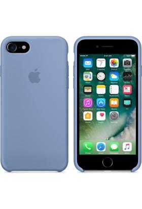 Apple iPhone 7 / 8 Silikon Kılıf Azur Mavisi (İthalatçı Garantili)