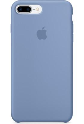 Apple iPhone 7 Plus / 8 Plus Silikon Kılıf Azur Mavisi (İthalatçı Garantili)