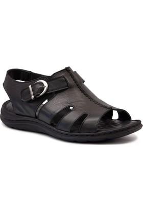 Gedikpaşalı 2008 Siyah Erkek Terlik-Sandalet