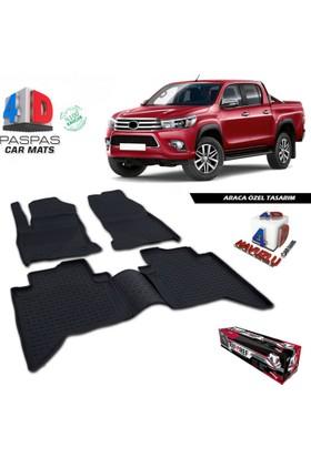 Toyota Hilux 4D Havuzlu Paspas 2015 ve Üzeri A+Plus