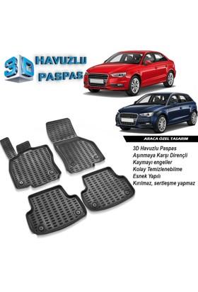 Audi A3 3D Havuzlu Paspas HB SD 2013 ve Sonrası A+Plus
