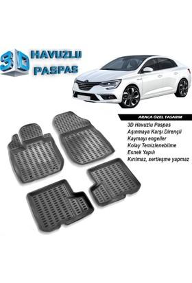 Renault Megane 4 3D Havuzlu Paspas A+Plus