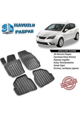 Seat Ibiza 3D Havuzlu Paspas 2009-2014 Arası A+Plus