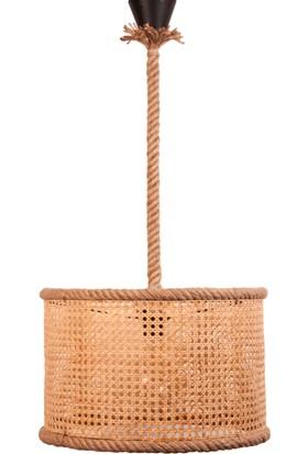 Evon Bambu Hasır Halat Sarkıt