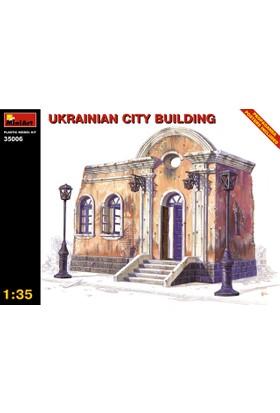 Miniart 1/35 Ölçek Plastik Maket, Ukrayna Şehir Binası