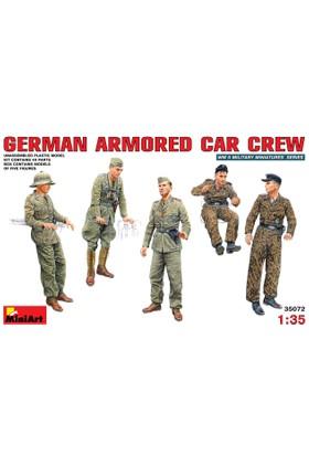 Miniart 1/35 Ölçek Plastik Maket, Alman Zırhlı Araç Mürettebatı