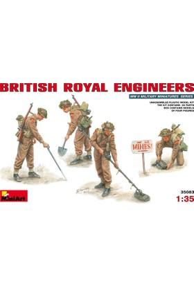 Miniart 1/35 Ölçek Plastik Maket, Kraliyet Mühendisleri