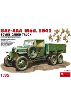 Miniart 1/35 Ölçek Plastik Maket, Gaz-Aaa Kargo Kamyonu, 1941 Model