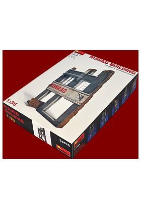 Miniart 1/35 Ölçek Plastik Maket, Yıkık Bina