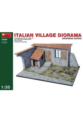 Miniart 1/35 Ölçek Plastik Maket, İtalyan Köy Dioraması