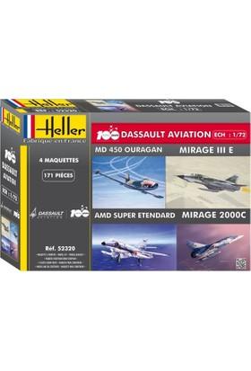 Havacılığın 100. Yılı: Mirage Iıı E, Mirage 2000 C, Heller 1/72 Ölçek Plastik Maket Seti