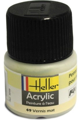 Vernik Rengi Parlak No: 49, Heller 12Ml Akrilik Maket Boyası
