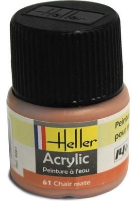 Ten Rengi Mat No: 61, Heller 12Ml Akrilik Maket Boyası
