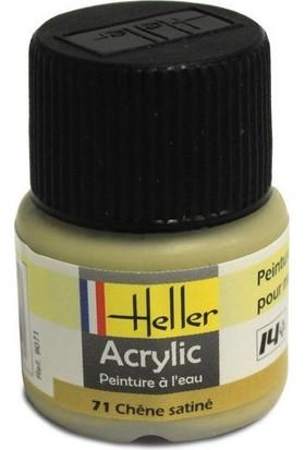 Meşe Saten No: 71, Heller 12Ml Akrilik Maket Boyası