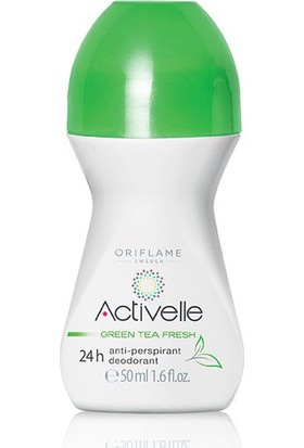 Oriflame Activelle Green Tea Fresh Anti-Perspirant 24H Roll On