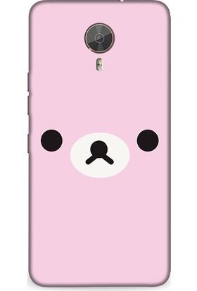 Dynamics General Mobile 4G Kılıf Pinky Bear Desenli Kılıf
