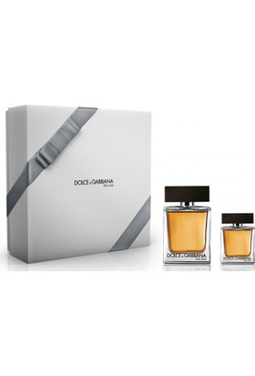 Dolce Gabbana The One EDT 100 ml + 30 ml - Erkek Parfüm Set