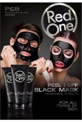 Redone Siyah Maske
