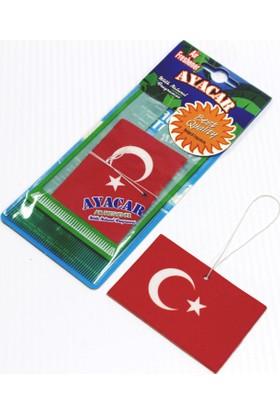 ModaCar Türk Bayrağı Desenli Asma Koku 842084
