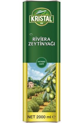 Kristal Riviera Zeytinyağı Teneke Kutu 2 Litre