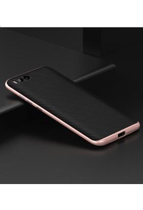Case 4U Xiaomi Mi 6 Hybrid Korumalı İnce Arka Kapak Rose Gold