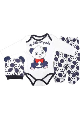 Pearly Panda Bodyli Takım