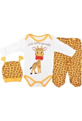 Pearly Zürafalı Bodyli Takım
