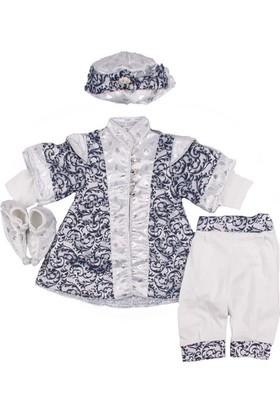 Ponpon Baby Laci Beyaz Şehzade Takım