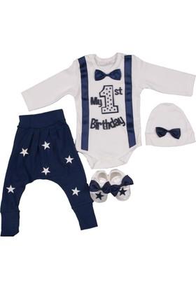 Ponpon Baby Laci Erkek 1.Yaş 4'lü Takım