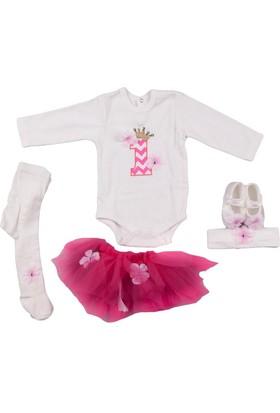 Ponpon Baby Nar Kız Tül 1. Yaş 5'li Takım