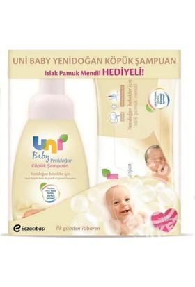 Uni Baby Köpük Şampuan Islak Mendil