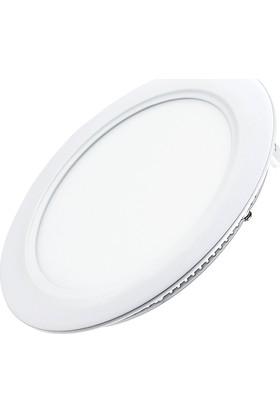 Ack Ap01-30930 9W Sıva Altı Yuvarlak Led Panel Spot Beyaz