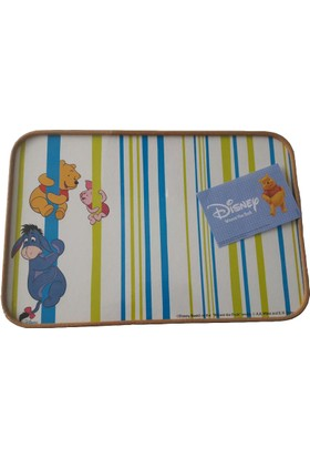 Dısney Servis Tepsisi - Mantar - Walt Disney Karakterli (Mavi)