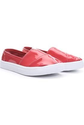 19V69 Italia Bayan Deri Tm Ayakkabı Fuşya